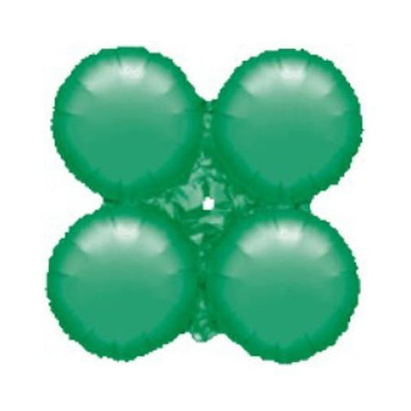 Green 4ply arch Foil Balloon