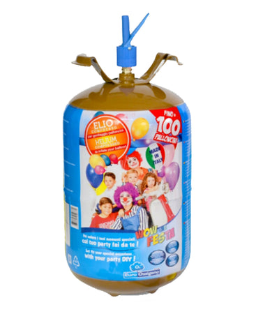 Helium Disposable Cylinder for 100 Balloons