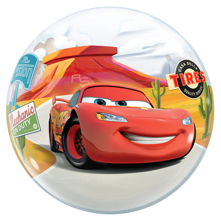 22'' Cars McQueen single Bubble balloon