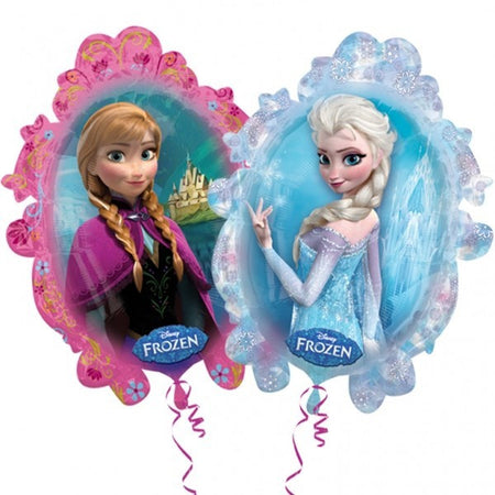 Super Shape Frozen Elsa & Anna Disney Foi Balloon  STREET