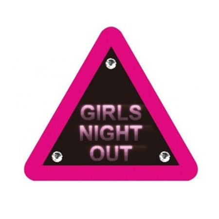 Warning Sign 'Girls Night Out'