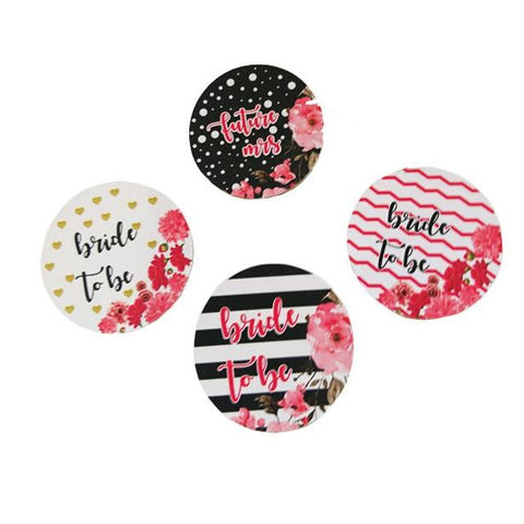 Handmade Badges for Bachelorette party