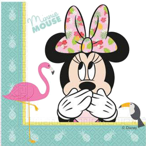 Napkins Minnie Tropical (20 pcs)