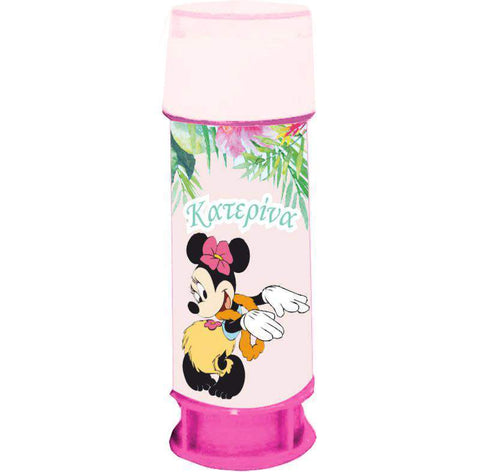 Soap Bubbles Minnie Tropical