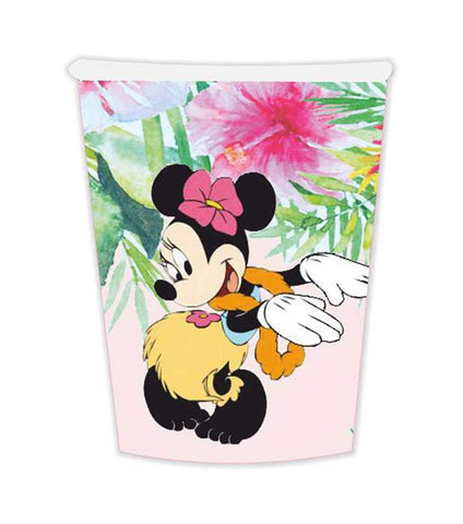 Paper Cup Minnie Tropical