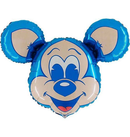 "36"" Macho Mouse Face Foil Balloon STREET"