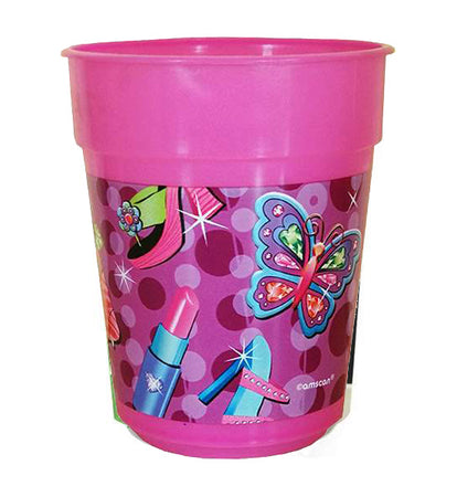 Glamour Girl plastic Cup (1 piece)