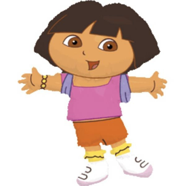Super Shape Dora the explorer Foil Balloon