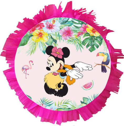 Handmade Minnie Tropical Pinata