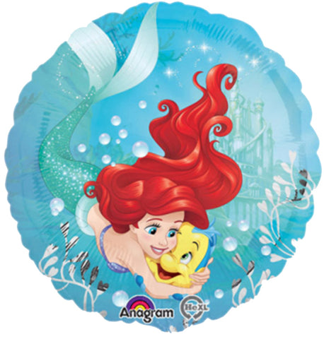 18'' Ariel Disney Foil Balloon