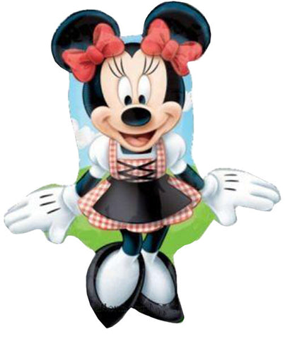 "38"" Minnie Mouse Disney dirndn Foil Balloon"
