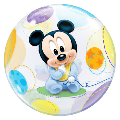 22'' Baby Mickey Mouse single Bubble balloon