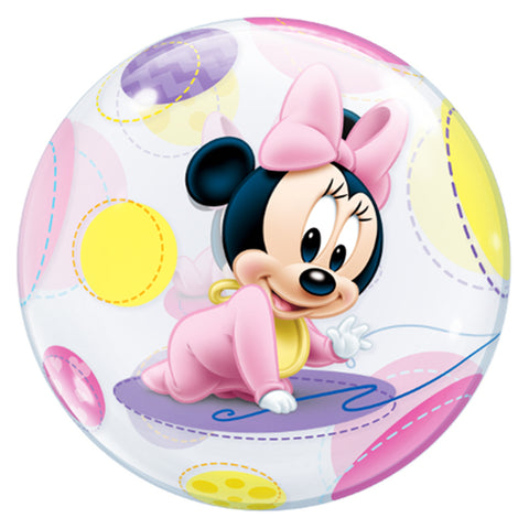 22'' Baby Minnie Mouse single Bubble balloon
