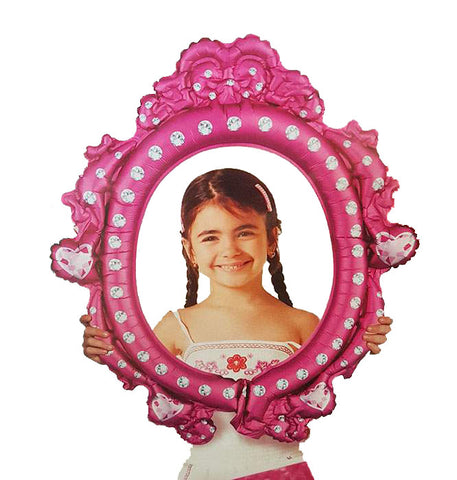 "27"" Selfie Frame Disney Princess Foil Balloon"