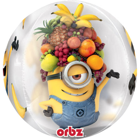 16'' Minions Despicable me ORBZ Foil Balloon