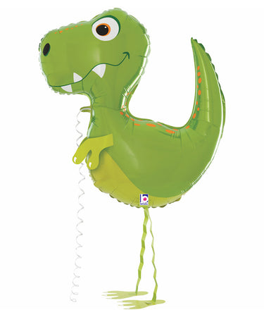 "37"" Walking Dinosaur Foil Balloon"