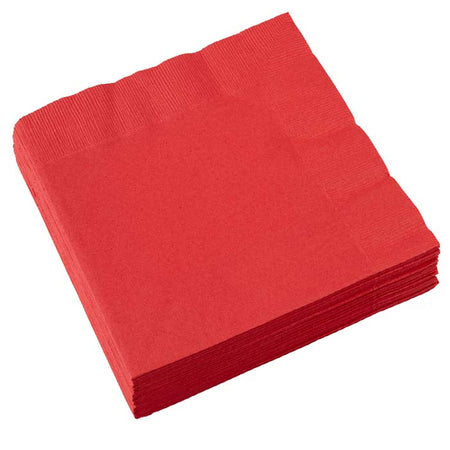 Apple Red Napkins (20 pcs)
