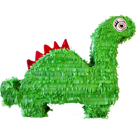 Cute Green Dinosaur Pinata