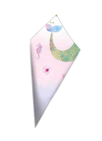 Paper Cone for sweets Mermaid