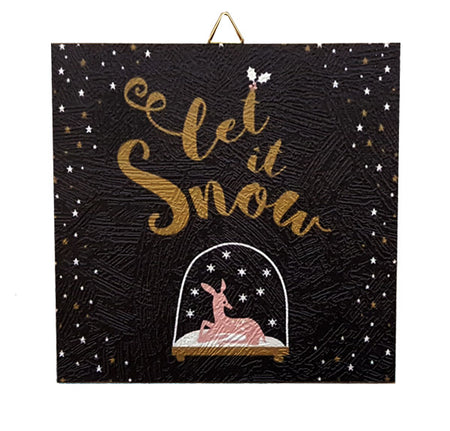 Christmas Frame Let it snow