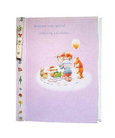 Wishing Card for Birthday Winnie the Pooh (design 1)