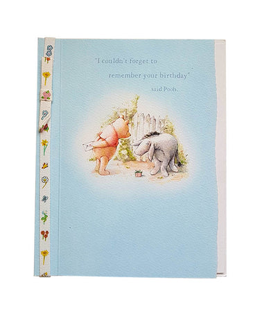 Wishing Card for Birthday Winnie the Pooh (design 3)