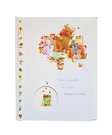 Wishing Card for Birthday Winnie the Pooh (design 4)