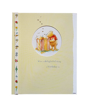Wishing Card for Birthday Winnie the Pooh (design 2)