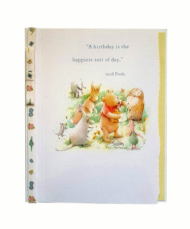 Wishing Card for Birthday Winnie the Pooh (design 6)