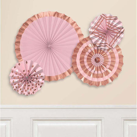 Rosegold Tissue fan (3 pcs)