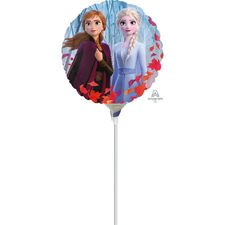 9'' Frozen 2 Disney Foil Balloon