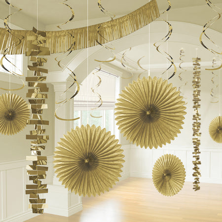 Decoration kit in Gold (18 pcs)