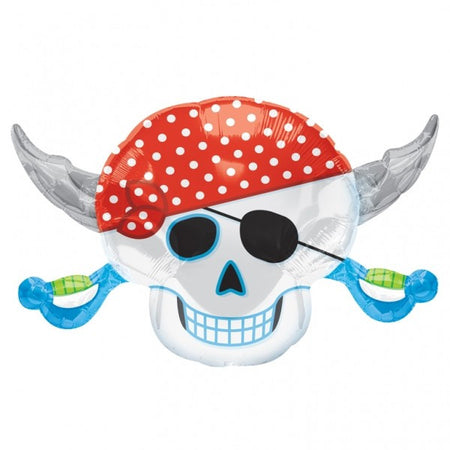 Super Shape Pirate Foil Balloon