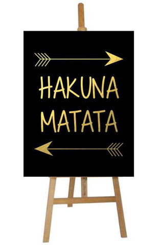 Party Canvas Hakuna Matata