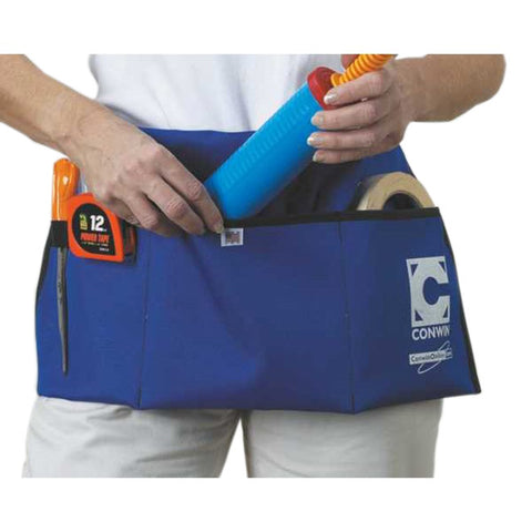 Blue Utility apron for balloon accessories