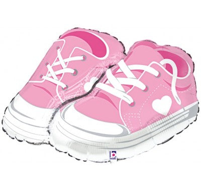 Super Shape Baby Girl Sneakers Foil Balloon