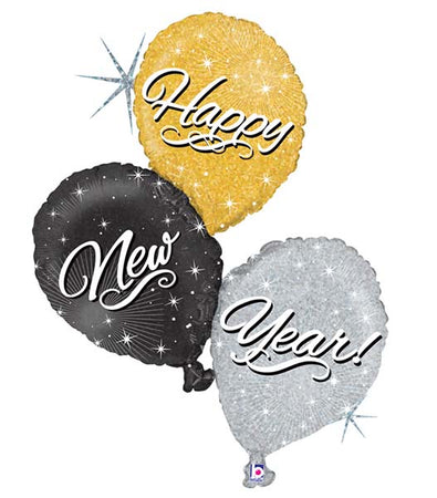 "40'' ""New Year"" Foil Balloon"