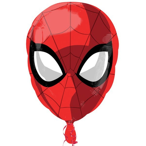 "25"" Spiderman head Foil Balloon"
