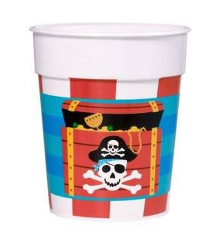 Pirate plastic Cup (1 piece)