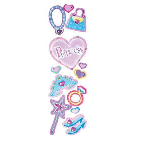 Stickers Princess (6 pcs)