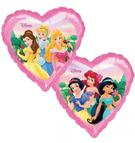 18'' Disney Princesses Heart Foil Balloon