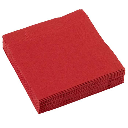 Apple Red small Napkins (20 pcs)