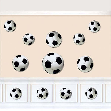Cutouts Football (12 pcs)