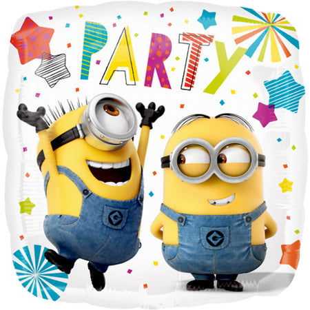 18'' Minions Party square Foil Balloon