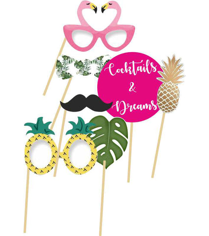 Aloha Photo booth Sticks (7 pcs)