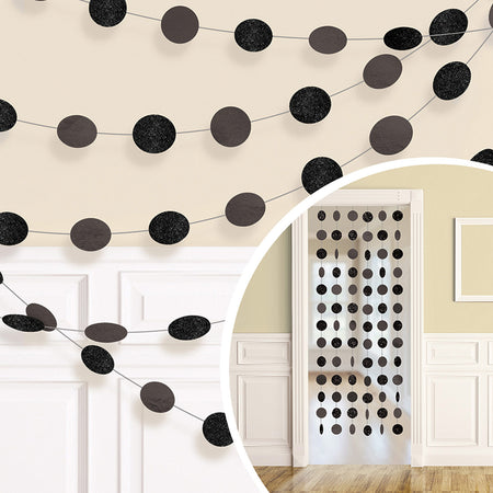 Hanging Door Decoration in Black