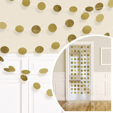 Hanging Door Decoration in Gold