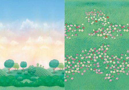 Wallpaper Princess Garden (2 pcs)