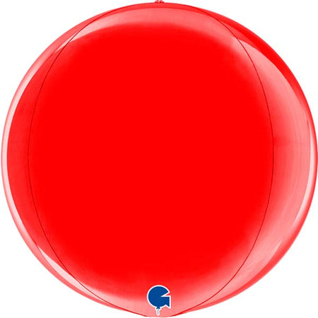 15'' Red Orbz Foil Balloon