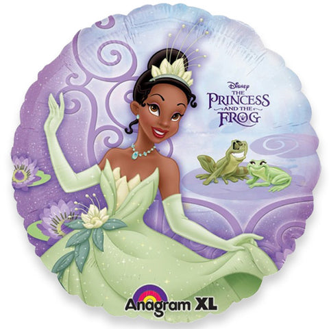 18'' Princess and frog purple Foil Balloon